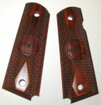 Grips 1911 Full Size Standard with Logo Rosewood by STI