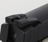 Dawson Precision CZ P09 Fixed Competition Black Rear Sights