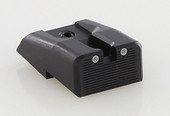 Dawson Precision HK 45/45Compact/P30/P30L Fixed Carry Tritium Rear Sights