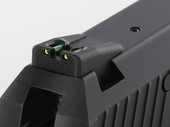 Dawson Precision HK USP Fixed Competition Fiber Optic Rear Sights