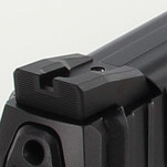 Dawson Precision HK VP9 Fixed Competition Black Rear Sights