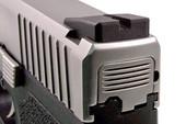 Dawson Precision Kahr New Dovetail/CW/CM Fixed Carry Black Rear Sights