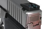 Dawson Precision Kahr New Dovetail/CW/CM Fixed Carry Fiber Optic Rear Sights