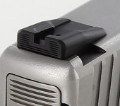 Dawson Precision Kahr Old Dovetail Fixed Carry Black Rear Sights