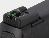 Dawson Precision S&W M&P Shield Fixed Charger Fiber Optic Rear Sights
