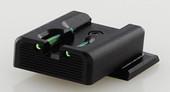Dawson Precision S&W M&P Fixed Charger Fiber Optic Rear Sights