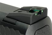 Dawson Precision S&W M&P Fixed Competition Fiber Optic Rear Sights