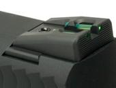 Dawson Precision S&W M&P 22 Fixed Carry Fiber Optic Rear Sights