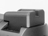Dawson Precision S&W M&P Core Fixed Carry Black Rear Sights