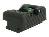 Dawson Precision S&W M&P Core Fixed Carry Fiber Optic Rear Sights