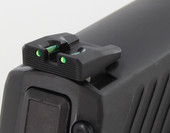 Dawson Precision Sig P320 Fixed Competition Fiber Optic Rear Sights