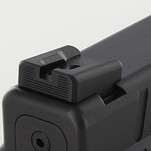 Dawson Precision Springfield XD/XDM Fixed Charger Black Rear Sights