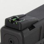 Dawson Precision Springfield XDS Fixed Carry Fiber Optic Rear Sights