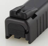 Dawson Precision Glock 42/43 Fixed Carry Black Rear Sights
