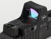 Dawson Precision Glock MOS Fixed Co-Witness Fiber Optic Rear Sights