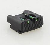 Dawson Precision Walther PPS/PPX/PPQ 45 Fixed Charger Fiber Optic Rear Sights