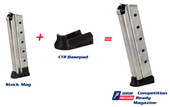 1911 Tripp Cobra 9mm 10Rd Dawson Competition Ready Magazine Kit