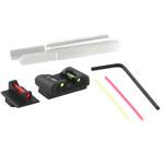 Dawson Precision Sig P320 Compact Charger Fixed Sight Set - Fiber Optic Rear & Fiber Optic Front