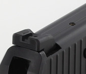 Dawson Precision HK P2000 Fixed Carry Black Rear Sights