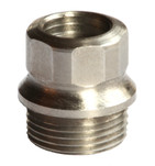 Grip Bushings 1911 Hex Drive Standard Grip Stainless 4 Pieces by Challis Grips