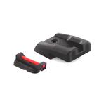 Dawson Precision Canik P120 Sight Set - Black Rear & Fiber Optic Front