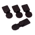 Dawson Precision 1911 Basepad Retainer Plate for DP and Metalform Magazines, Set of 4