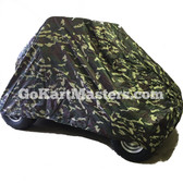 TrailMaster Go Kart Cover - Camo - Fits Mini