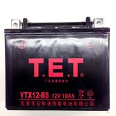 TrailMaster Go Kart Battery YTX12-BS - Fits All 150 & 300 Karts & UTVs