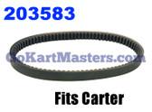 203583 Go Kart Torque Converter Belt