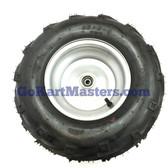 TrailMaster Go Kart Right Front Wheel Assembly - Mid XRX, XRX-R & Blazer