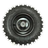 TrailMaster Go Kart Front Wheel & Tire Assembly - Fits Mini