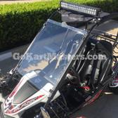 TrailMaster Go Kart Windshield - Fits ALL 150 & 300