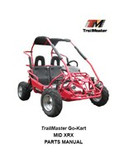 TrailMaster Mid XRX Parts Manual
