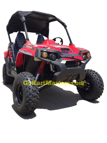 TrailMaster Challenger 300S UTV Side by Side - Ships FREE!!! - Red