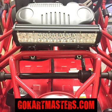 Trailmaster mid xrx mid xrx r go kart super bright led lower light bar aloadofball Choice Image