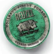 Reuzel Green Pomade-Grease-12oz. HOG
