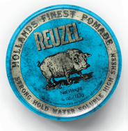 Reuzel Blue Strong Hold Water Soluble-1.3oz. PIGLET