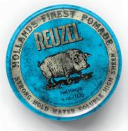 Reuzel Blue Strong Hold Water Soluble-12oz. HOG