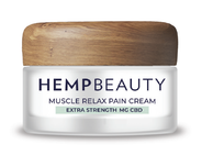 Hemp Beauty CBD Muscle Relax Pain Cream 3.4oz 500 MG Extra Strength