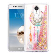 Quicksand Glitter Transparent Case for LG Aristo / Fortune / K8 2017 / Phoenix 3 - Dreamcatcher