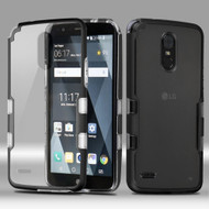 TUFF Panoview Transparent Hybrid Case for LG Stylo 3 / Stylo 3 Plus - Black