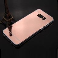 Premium Electroplated Candy Skin Cover for Samsung Galaxy S8 - Rose Gold