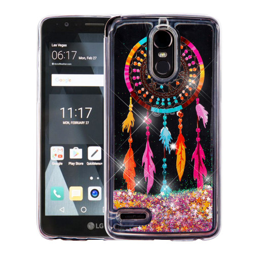 Quicksand Glitter Transparent Case For Lg Stylo 3 Stylo