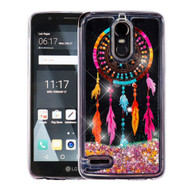 Quicksand Glitter Transparent Case for LG Stylo 3 / Stylo 3 Plus - Dreamcatcher