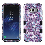 Military Grade Certified TUFF Image Hybrid Armor Case for Samsung Galaxy S8 - Persian Paisley