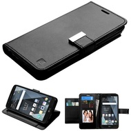 Essential Leather Wallet Stand Case for LG Stylo 3 / Stylo 3 Plus - Black