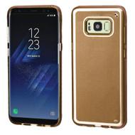 Premium TPU Gel Case for Samsung Galaxy S8 - Gold