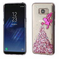 Krystal Gel Series Glitter Transparent TPU Case for Samsung Galaxy S8 - Fairy