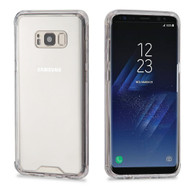 Ultra Hybrid Shock Absorbent Crystal Case for Samsung Galaxy S8 Plus - Clear