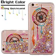 Quicksand Glitter Transparent Case for iPhone 6 Plus / 6S Plus - Dreamcatcher